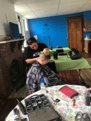 Haircutting time